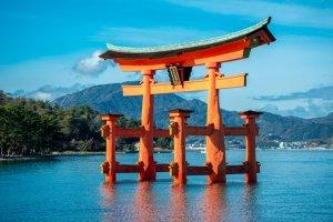 大鳥居/『厳島神社』